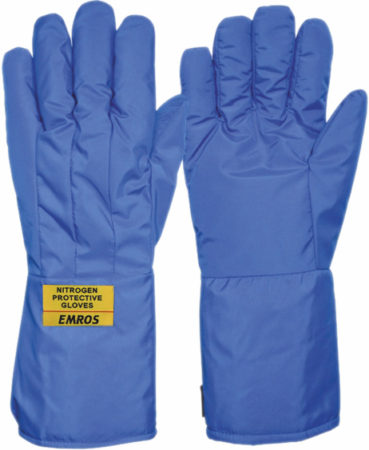 EMROS cryogenic gloves