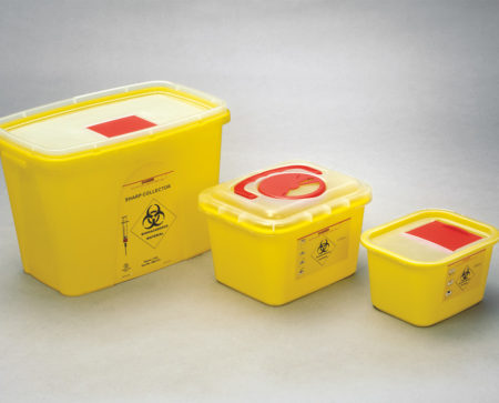 BIOHAZARD WASTE CONTAINER