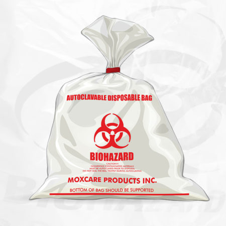 AUTOCLAVABLE DISPOSAL BAGS