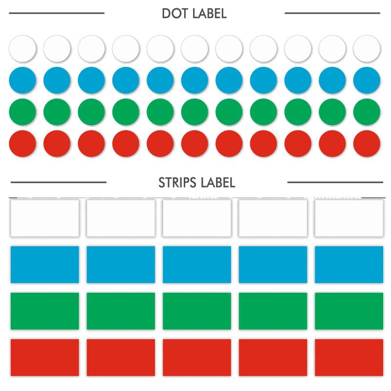 ARCTIC-M  DOT LABEL &  STRIPS