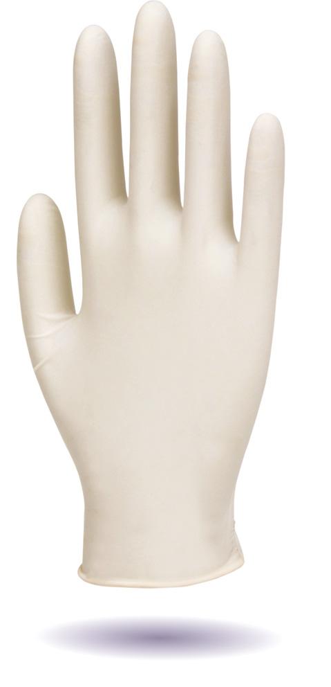 Bioskin latex exam gloves