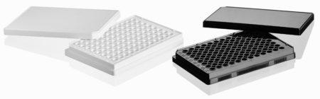 Black & White serological plates