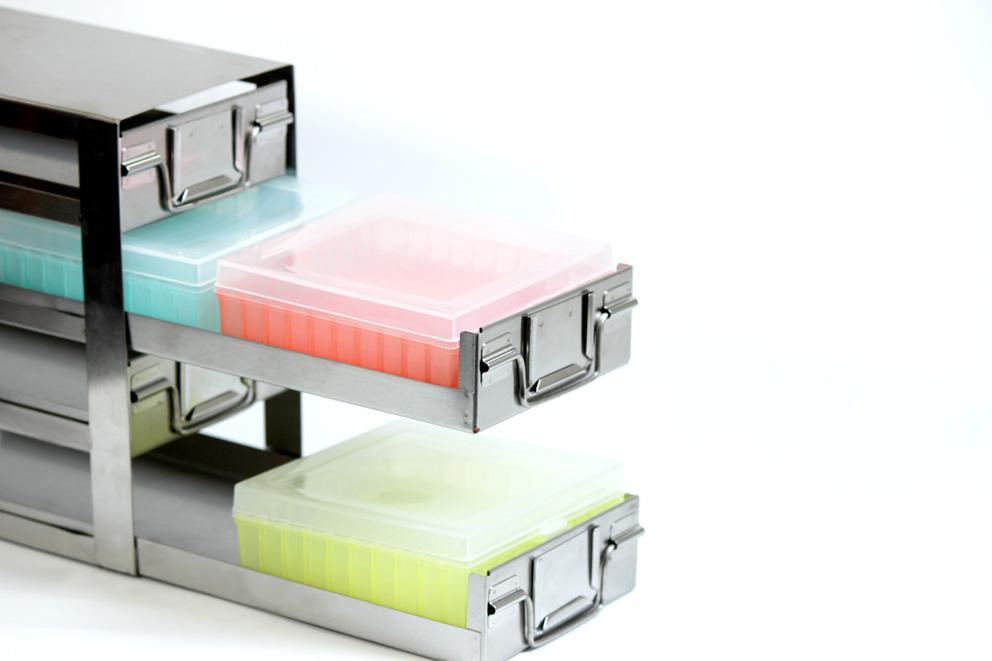 Stainless Steel Freezer Storage Racks