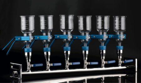 Manifolds Vacuum Filtration Appratus