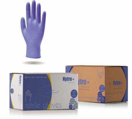 Nytro+ Purple Blue Nitrile Gloves
